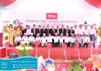 Tổ chức lễ khởi công tại Kiên Giang
