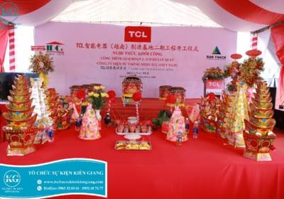Tổ chức lễ khởi công giá rẻ tại Kiên Giang