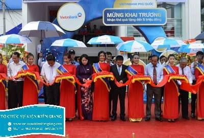 Công ty tổ chức sự kiện lễ khai trương tại Kiên Giang